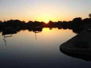 Sunset at Bergerac