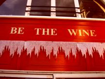 be the wine