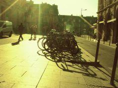 bikes at univerisity