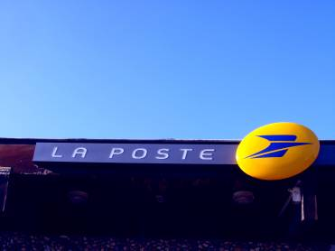 The only Post Office sign in the world that could double up as an airline logo.