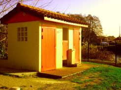I live in France because they have the best public toilets in Europe.