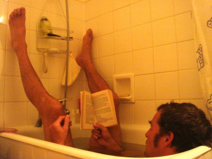 The french half bath