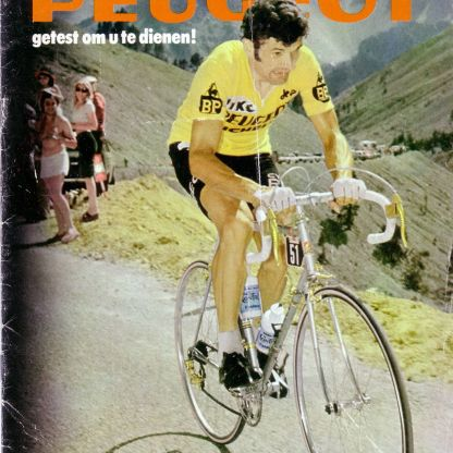 Bernard Thevenet on a PL10 in 1975 in the Tour De France